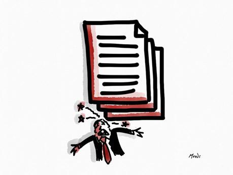 Article de blog renouvellement successif de CDD par Pierre Rodier, avocat de l'enseignement artistique. Illustration copyright Deborah Mends